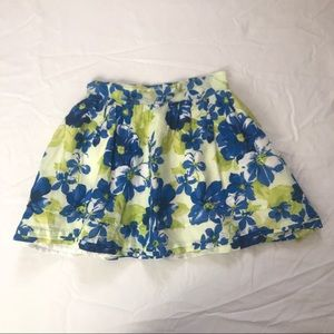 Aphorism Lined Ruffle Skirt